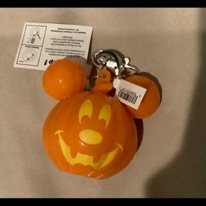 Mickey Halloween Light-up Keychain